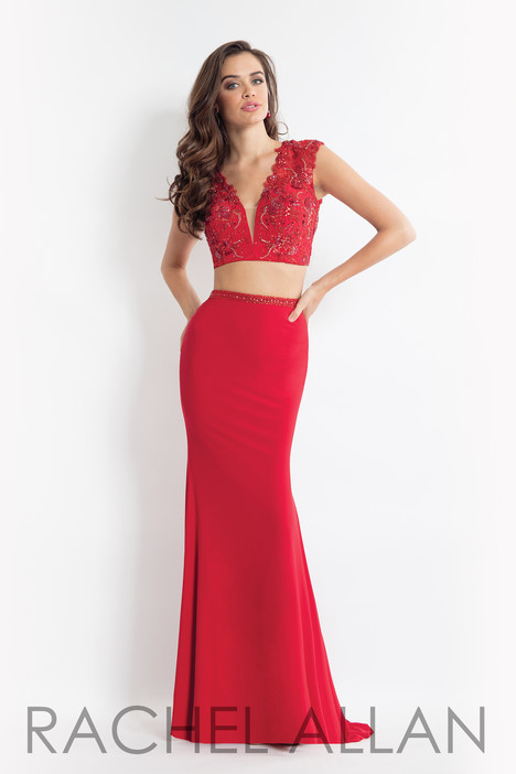 6173 (Red) gown from the 2018 Rachel Allan collection, as seen on dressfinder.ca