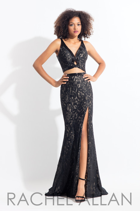 6175 (Black) gown from the 2018 Rachel Allan collection, as seen on dressfinder.ca