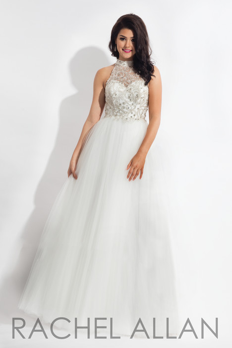 6178 (White) gown from the 2018 Rachel Allan collection, as seen on dressfinder.ca