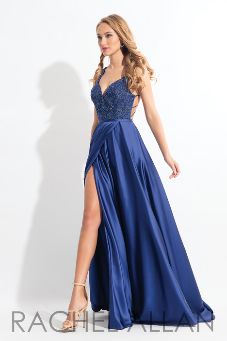 6180 (Navy) gown from the 2018 Rachel Allan collection, as seen on dressfinder.ca
