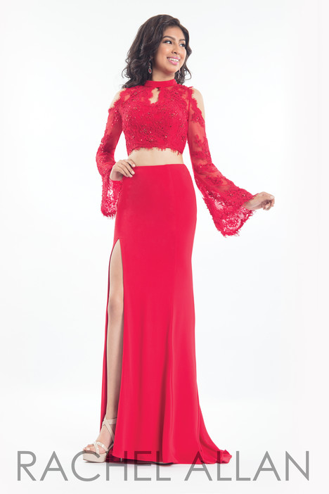 6186 (Red) gown from the 2018 Rachel Allan collection, as seen on dressfinder.ca