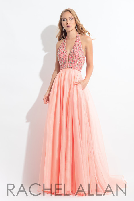 6187 (Blush) gown from the 2018 Rachel Allan collection, as seen on dressfinder.ca