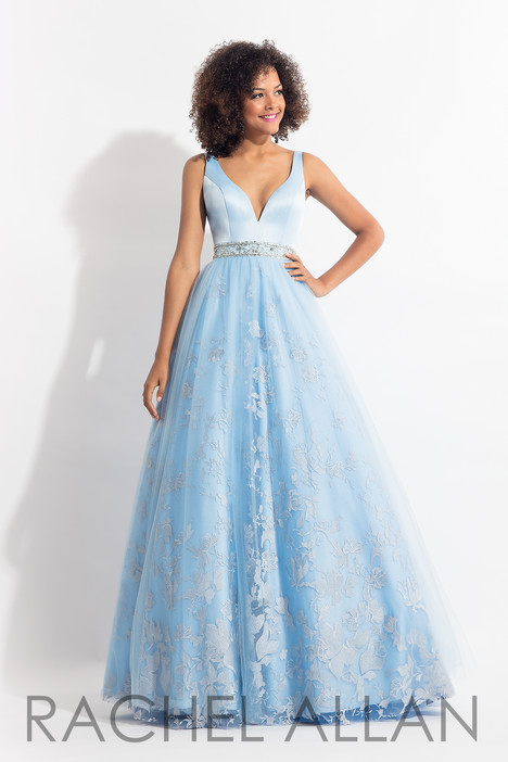 6189 (Sky Blue) gown from the 2018 Rachel Allan collection, as seen on dressfinder.ca