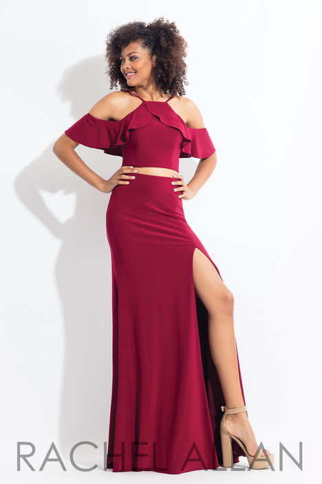 6197 (Red) gown from the 2018 Rachel Allan collection, as seen on dressfinder.ca