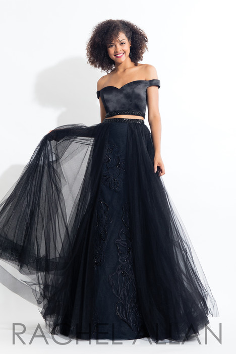 6198 (Black) gown from the 2018 Rachel Allan collection, as seen on dressfinder.ca