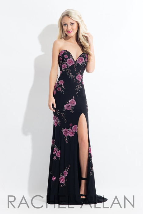 6203 (Black) gown from the 2018 Rachel Allan collection, as seen on dressfinder.ca