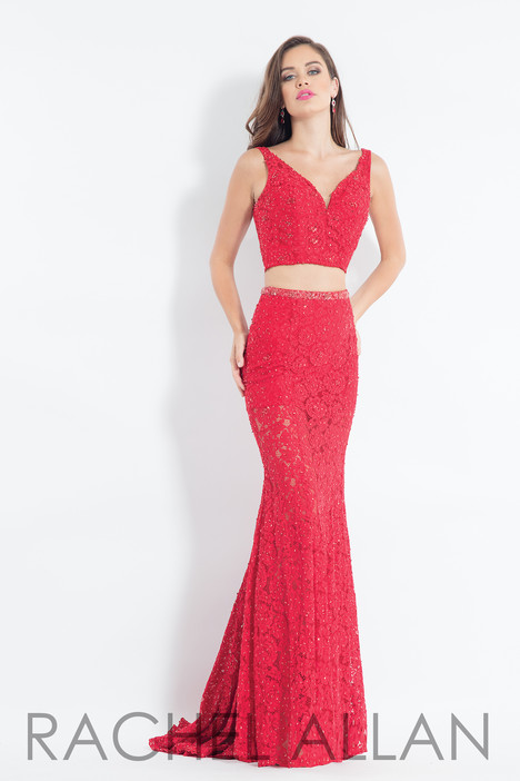 6213 (Red) gown from the 2018 Rachel Allan collection, as seen on dressfinder.ca