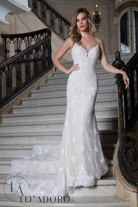 M614 Wedding                                          dress by Lo' Adoro
