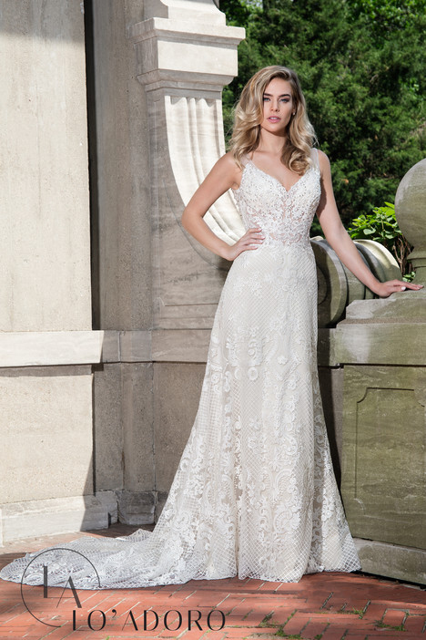 M622 Wedding                                          dress by Lo' Adoro