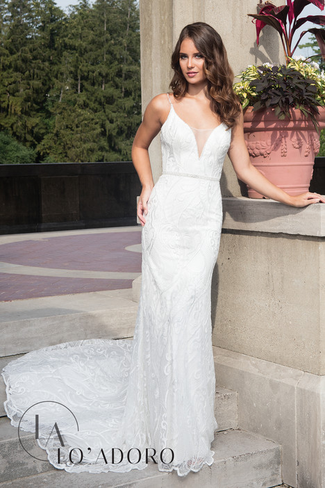 M627 Wedding                                          dress by Lo' Adoro