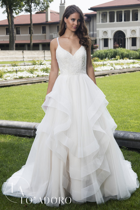 M629 Wedding                                          dress by Lo' Adoro