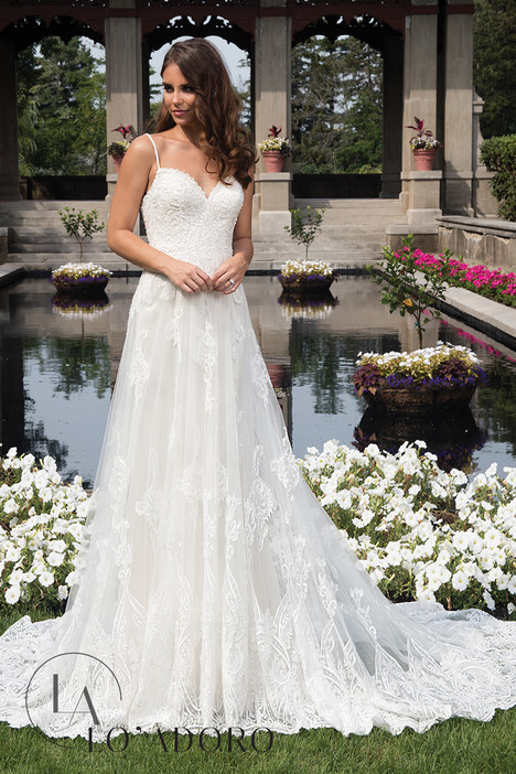 M635 Wedding                                          dress by Lo' Adoro