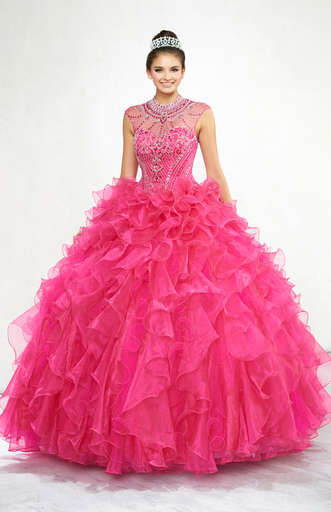 Q11801 (Fuchsia) Wedding                                          dress by Princesa by Mon Cheri