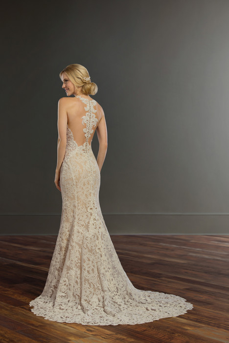 947 (back) Wedding                                          dress by Martina Liana
