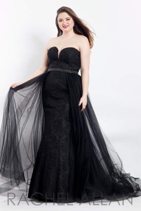 6300 (Black) Prom                                             dress by Rachel Allan : Curves