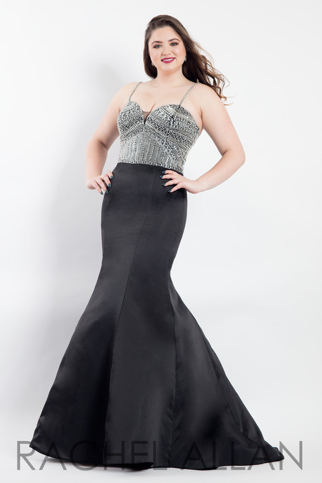 6303 (Black) Prom dress by Rachel Allan : Curves