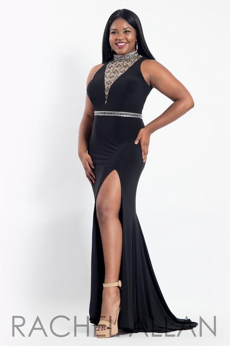 6305 (Black) Prom                                             dress by Rachel Allan : Curves