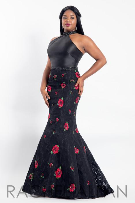6309 (Black) Prom                                             dress by Rachel Allan : Curves
