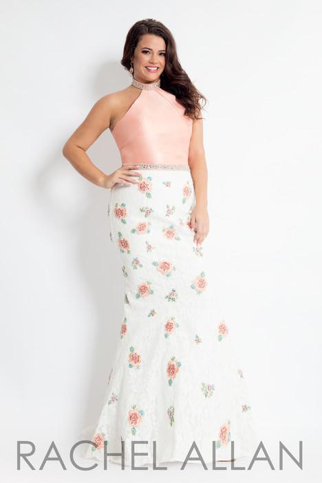 6309 (Blush) Prom                                             dress by Rachel Allan : Curves