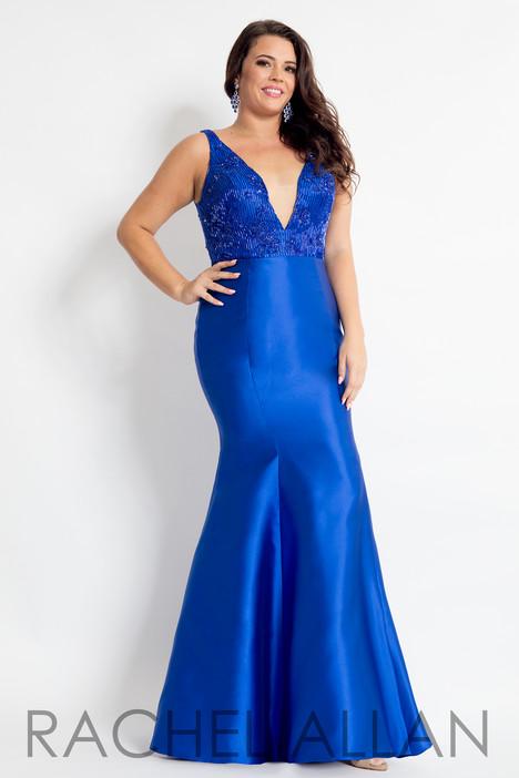 6310 (Blue) Prom                                             dress by Rachel Allan : Curves