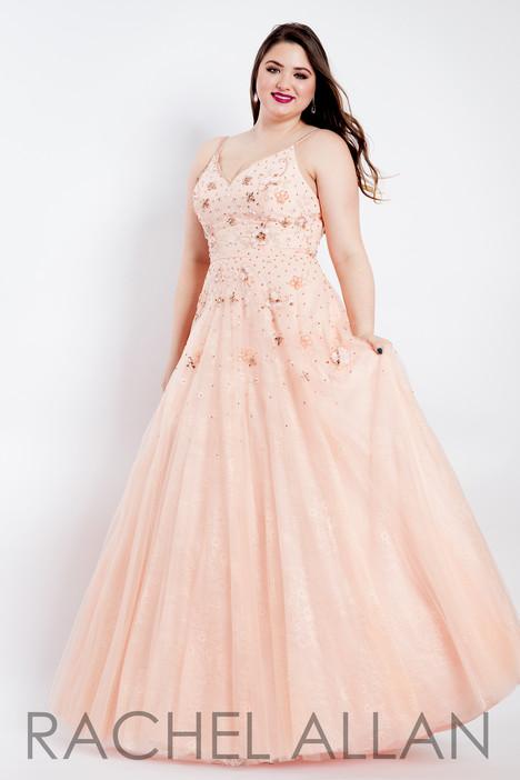 6311 (Blush) Prom                                             dress by Rachel Allan : Curves