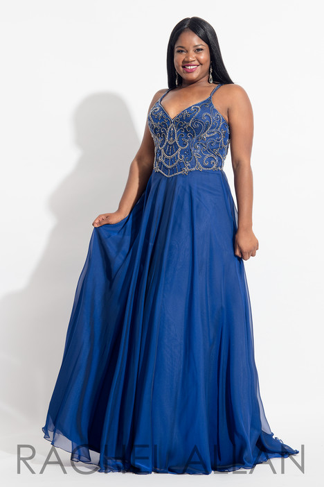 6316 (Royal) Prom                                             dress by Rachel Allan : Curves