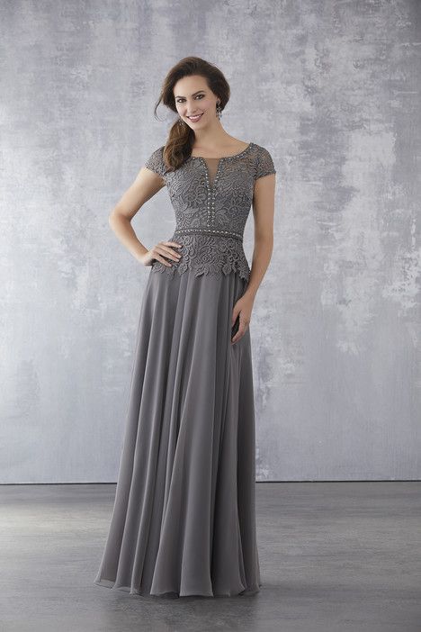 71702 (Grey) Mother of the Bride                              dress by Mori Lee : MGNY