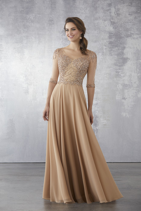 71703 (Champagne) Mother of the Bride                              dress by Mori Lee : MGNY