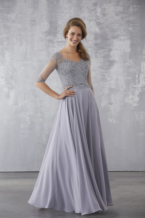 71703 (Platinum) Mother of the Bride                              dress by Mori Lee : MGNY