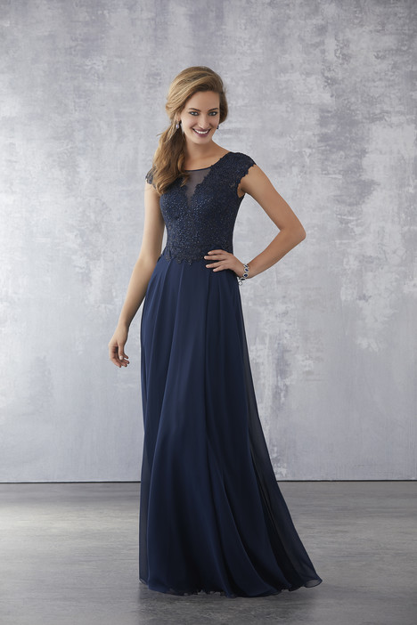 71705 (Navy) Mother of the Bride                              dress by Mori Lee : MGNY