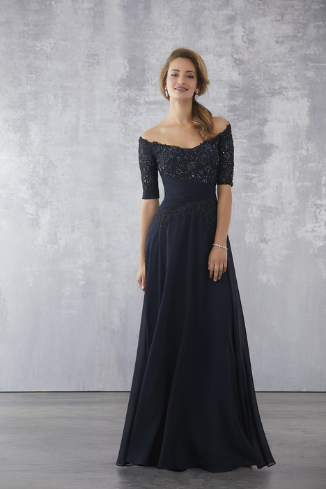 71706 (Navy) Mother of the Bride                              dress by Mori Lee : MGNY