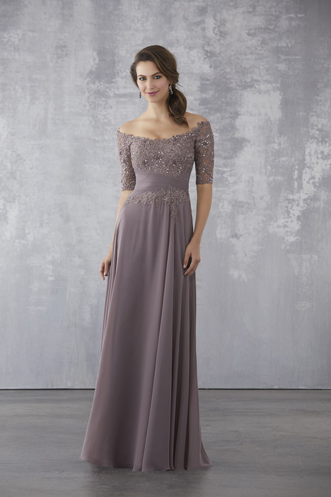 71706 (Dusty Mauve) Mother of the Bride                              dress by Mori Lee : MGNY