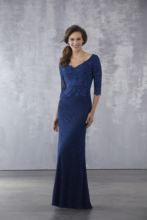 71707 (Navy) Mother of the Bride                              dress by Mori Lee : MGNY