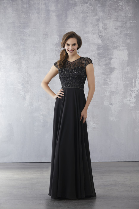 71708 (Black) gown from the 2018 MGNY Madeline Gardner collection, as seen on dressfinder.ca