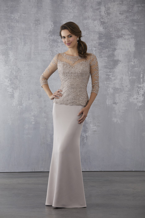 (Taupe) Mother of the Bride dress by MGNY Madeline Gardner