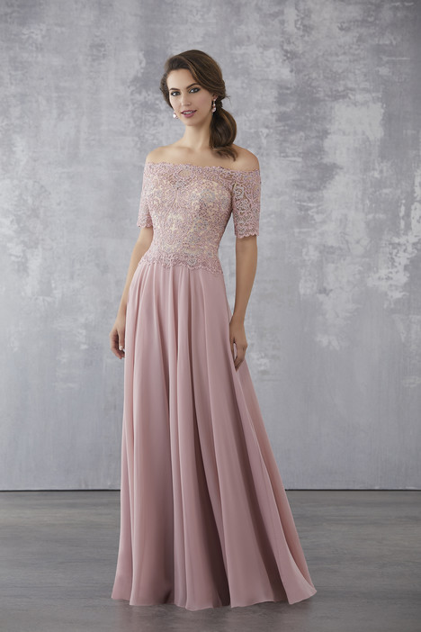 (Dusty Rose) Mother of the Bride dress by MGNY Madeline Gardner