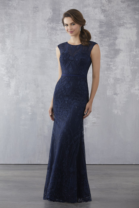 71711 (Navy) Mother of the Bride                              dress by Mori Lee : MGNY