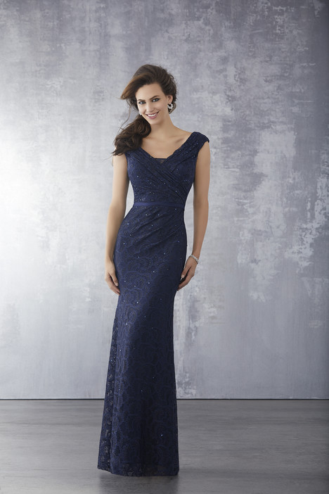 71713 (Navy) Mother of the Bride                              dress by Mori Lee : MGNY