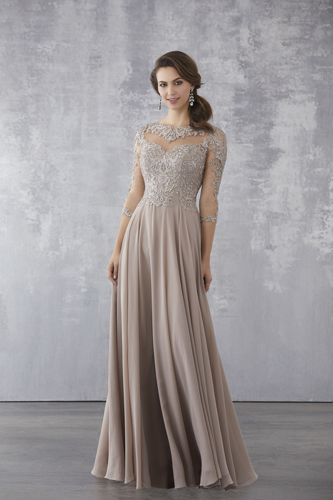 71714 (Taupe) Mother of the Bride                              dress by Mori Lee : MGNY