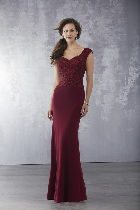 71715 (Wine) Mother of the Bride                              dress by Mori Lee : MGNY