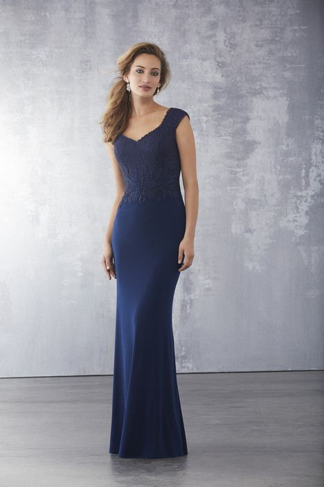 71715 (Navy) Mother of the Bride                              dress by Mori Lee : MGNY