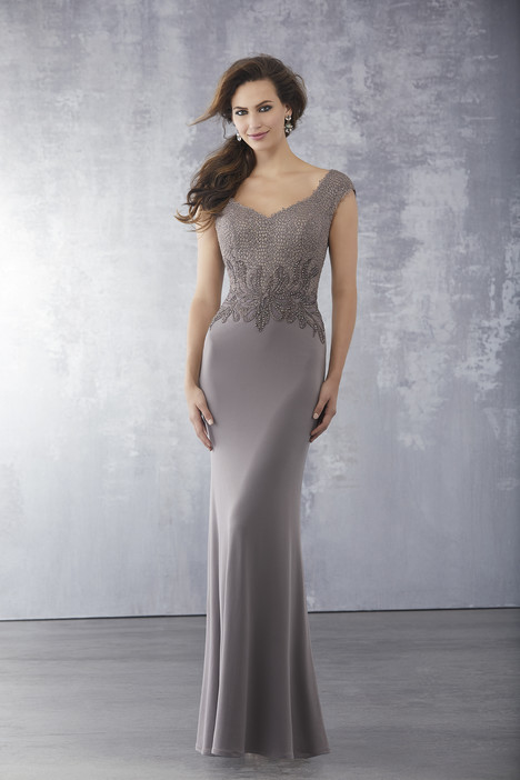 71715 (Mocha) Mother of the Bride                              dress by Mori Lee : MGNY