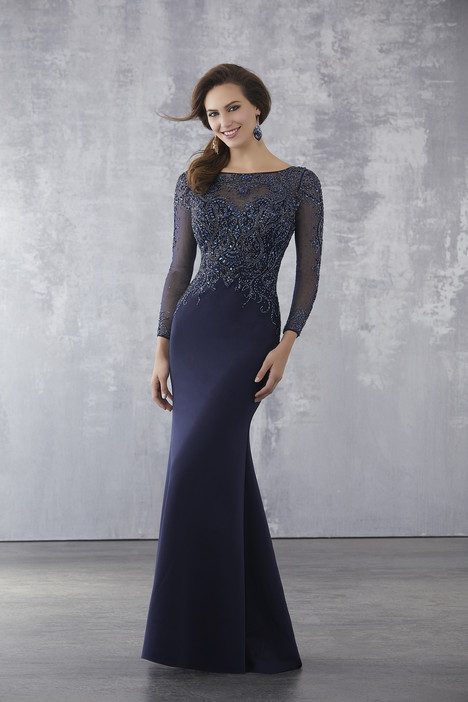 71716 (Navy) Mother of the Bride                              dress by Mori Lee : MGNY