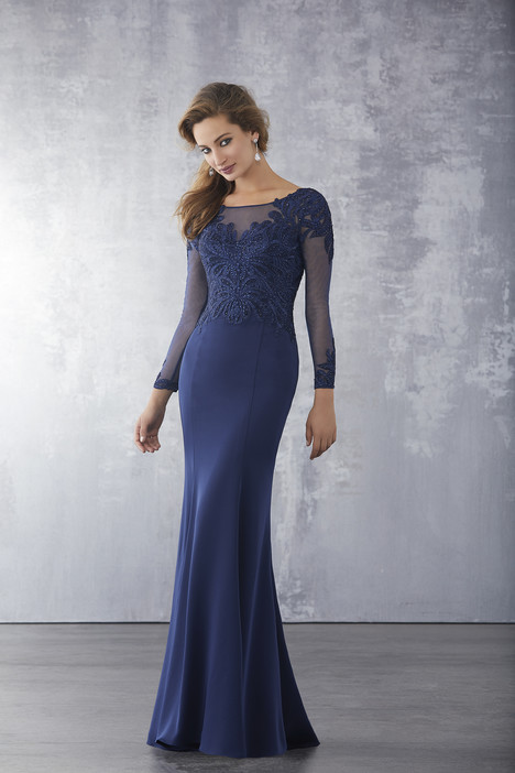 Style 71723, (Navy) gown from the 2018 MGNY Madeline Gardner collection, as seen on dressfinder.ca