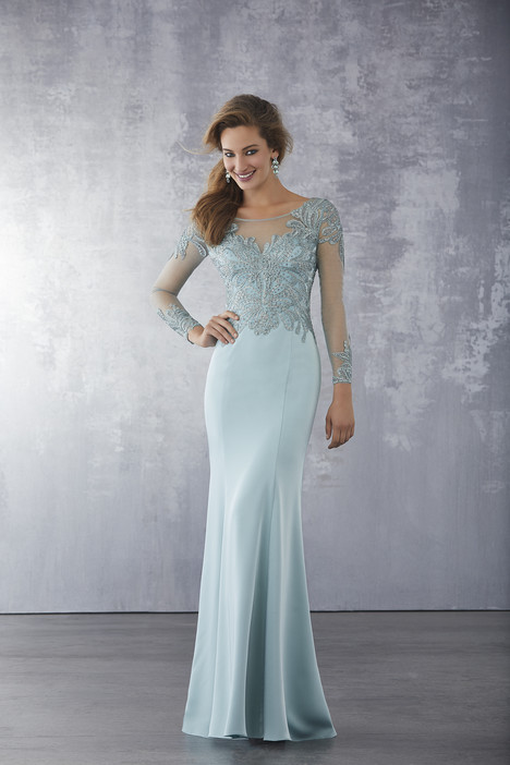 71723 (Sea Glass) gown from the 2018 MGNY Madeline Gardner collection, as seen on dressfinder.ca