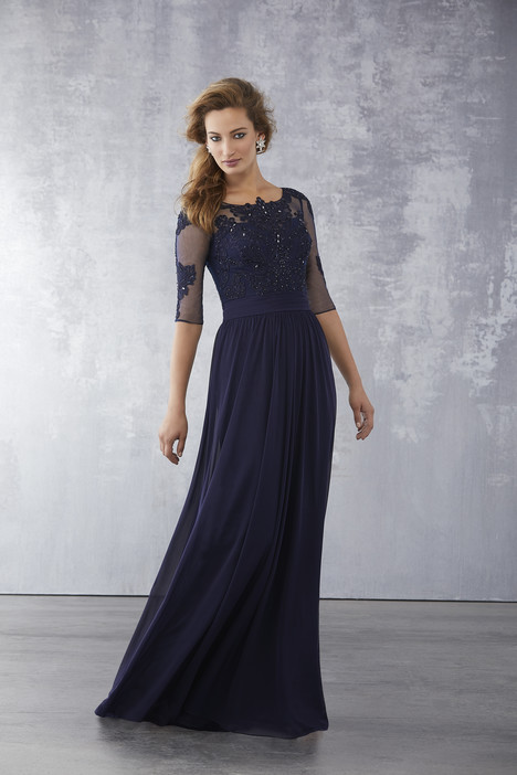 Style 71726, (Navy) gown from the 2018 MGNY Madeline Gardner collection, as seen on dressfinder.ca