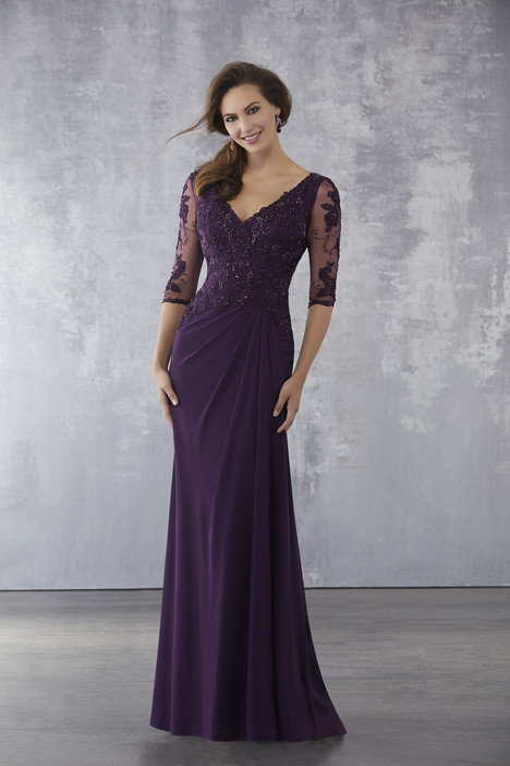 Style 71728, (Eggplant) gown from the 2018 MGNY Madeline Gardner collection, as seen on dressfinder.ca