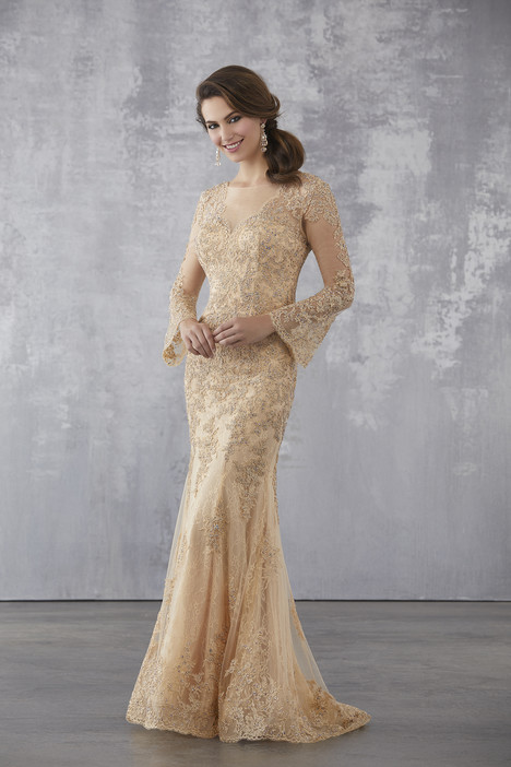 71735 (Champagne) Mother of the Bride                              dress by MGNY Madeline Gardner