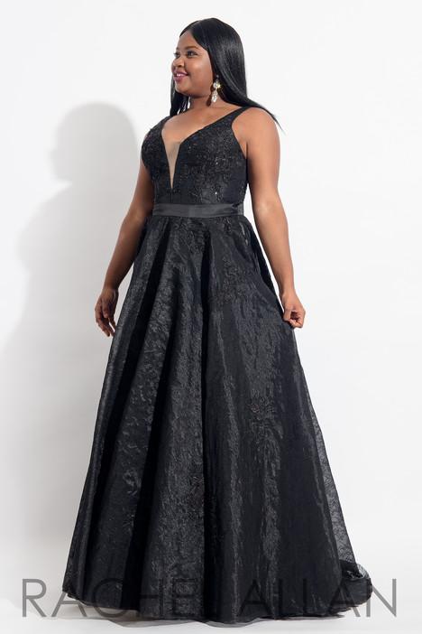 6320 (Black) Prom                                             dress by Rachel Allan : Curves