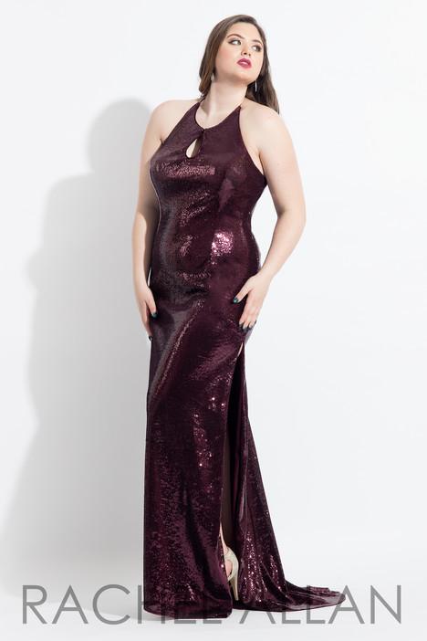 6328 (Aubergine) Prom                                             dress by Rachel Allan : Curves